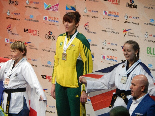 Australian Para taekwondo athlete Janine Watson has been granted dAIS funding from the Australian Institute of Sport ©Australian Paralympic Team