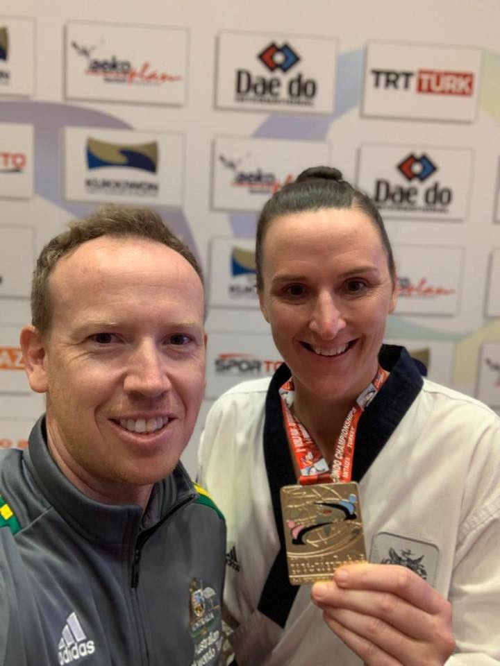 Australia's Janine Watson took gold at February's World Para Taekwondo Championships in Turkey ©Facebook