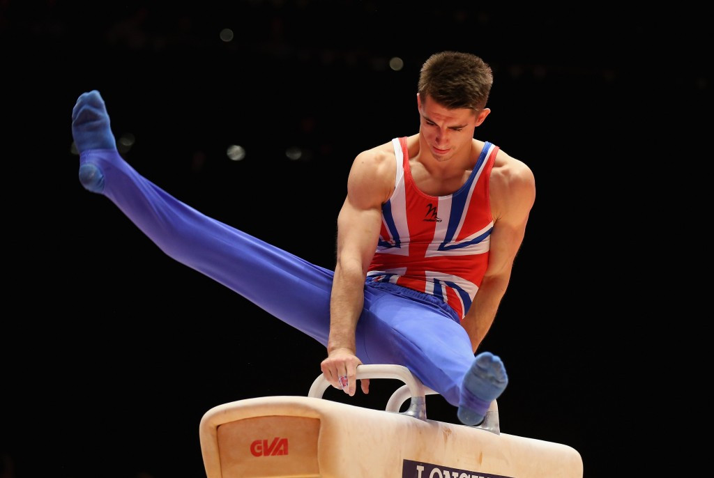 Max Whitlock became Great Britain's first-ever world champion with gold on the pommel horse
