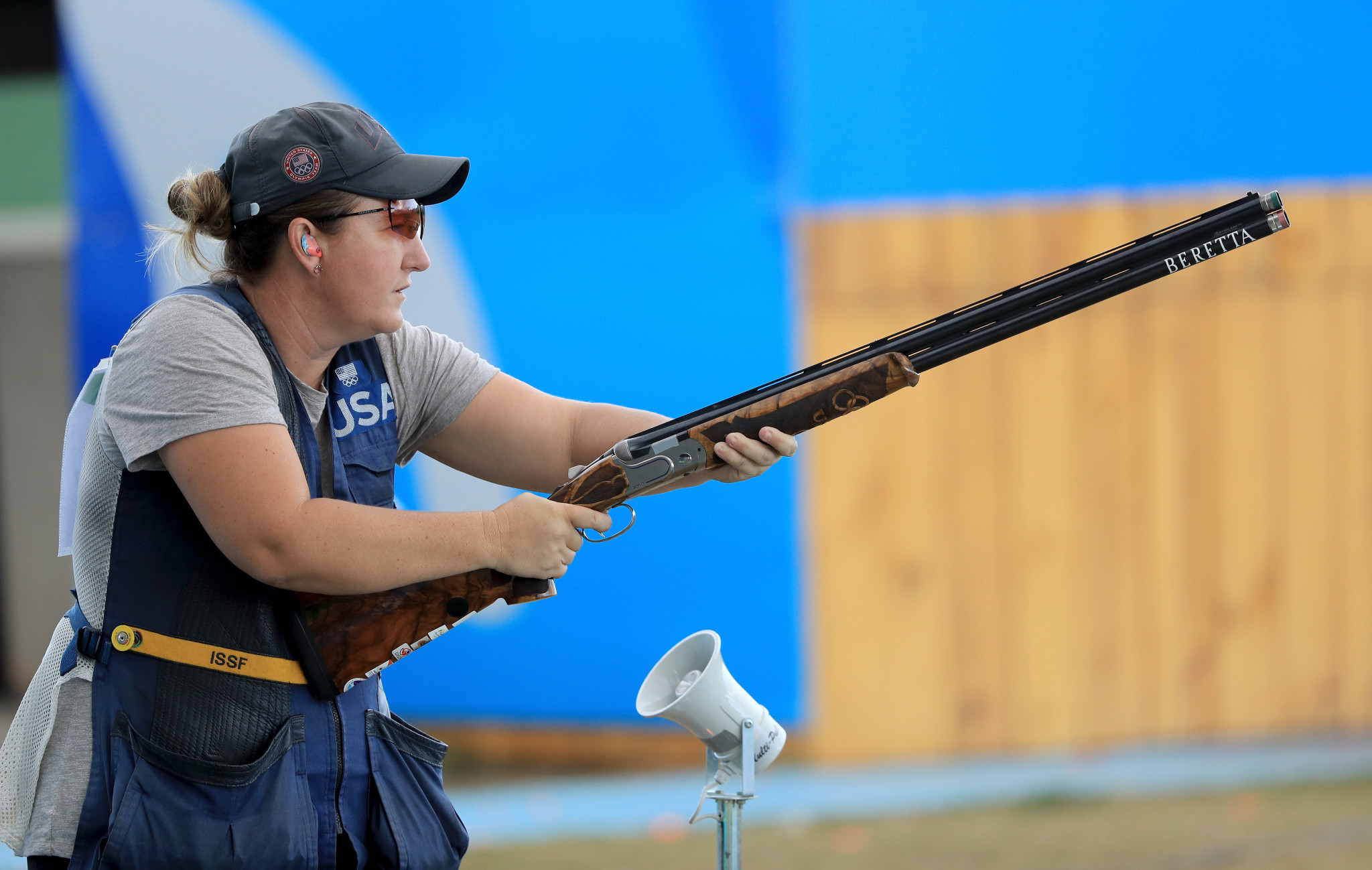 Rhode among women's skeet qualifiers at ISSF Shotgun World Cup in Changwon