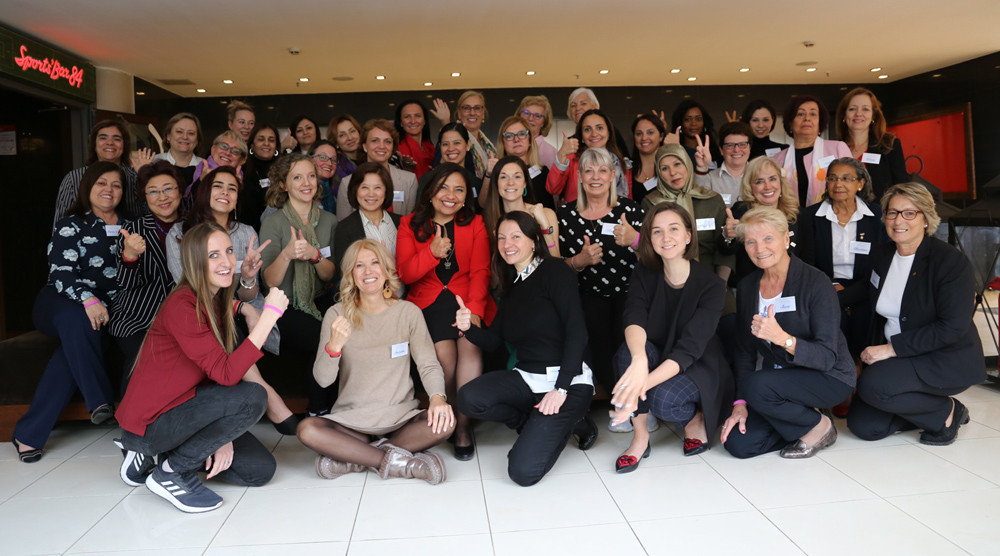 International Gymnastics Federation holds women's leadership forum in Saint Petersburg