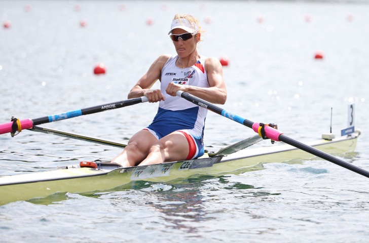 The Czech Republic's London 2012 wonen's single sculls champion Miroslava Knapková will race against another legend, Ekaterina Karsten from Belarus, at the opening World Rowing Cup of the year in Plovdiv ©Getty Images