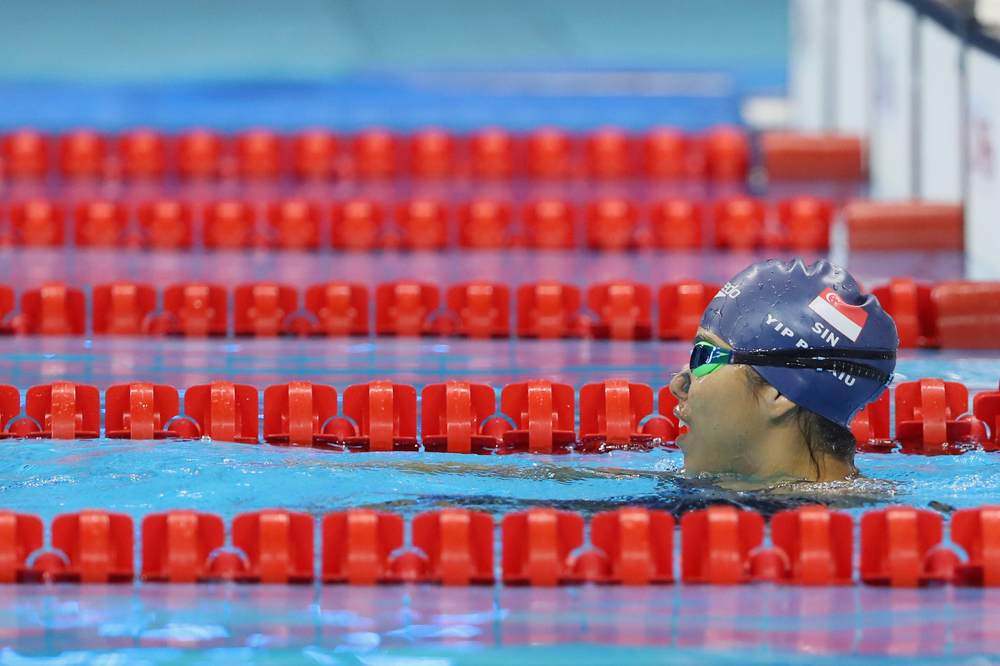 Singapore's 2016 Paralympic champion Yip Pin Xiu will seek to earn further gold at the Para Swimming World Series event that starts tomorrow in her home country ©Getty Images