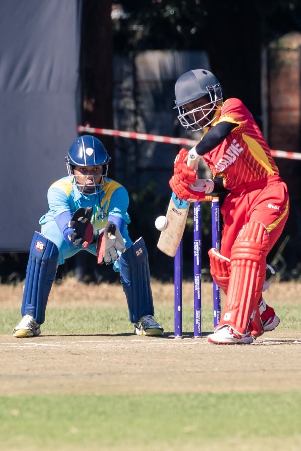 Opener Modester Mupachikwa led the way for the home side as she hit 62 in their 82-run win ©Zimbabwe Cricket/Twitter