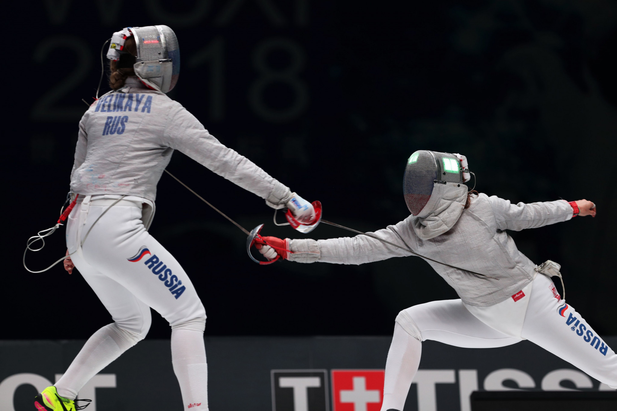 Russia's Sofya Velikaya will be hoping to justify her number one ranking at the FIE Women's Sabre World Cup in Tunis ©Getty Images