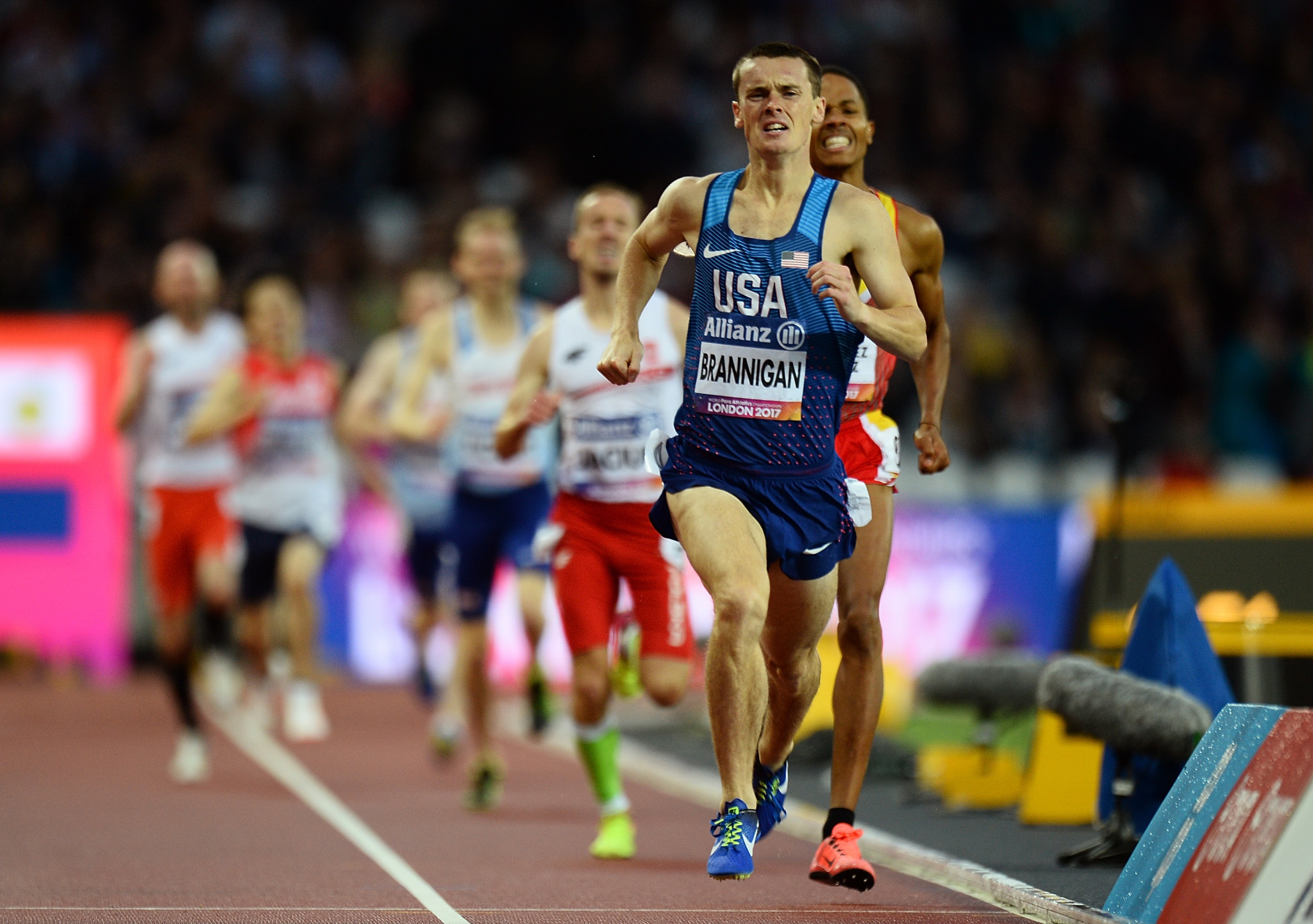 American Michael Brannigan is among the athletes set to compete in Beijing ©Getty Images