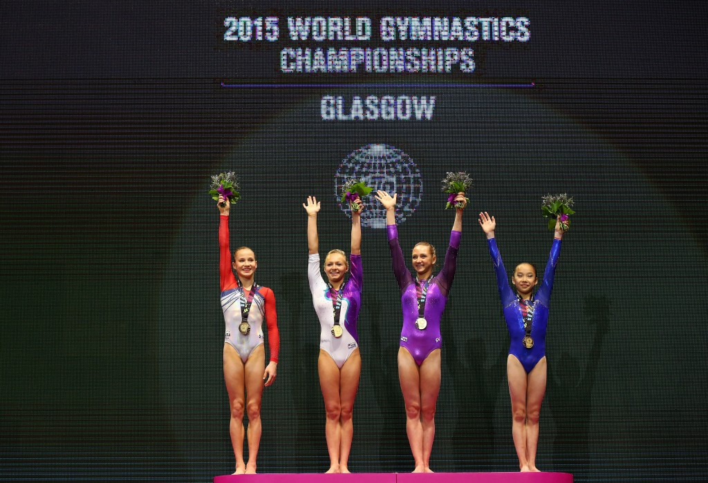 In pictures: 2015 Artistic Gymnastics World Championships day nine of competition