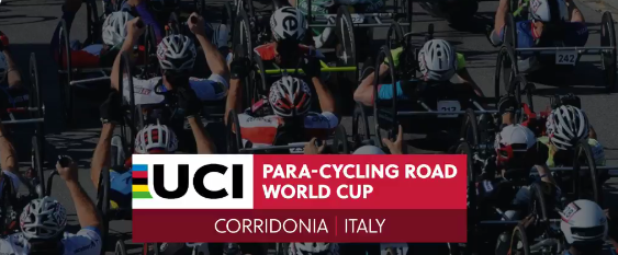 Plat among individual time trial winners on opening day of UCI Para-cycling Road World Cup in Corridonia