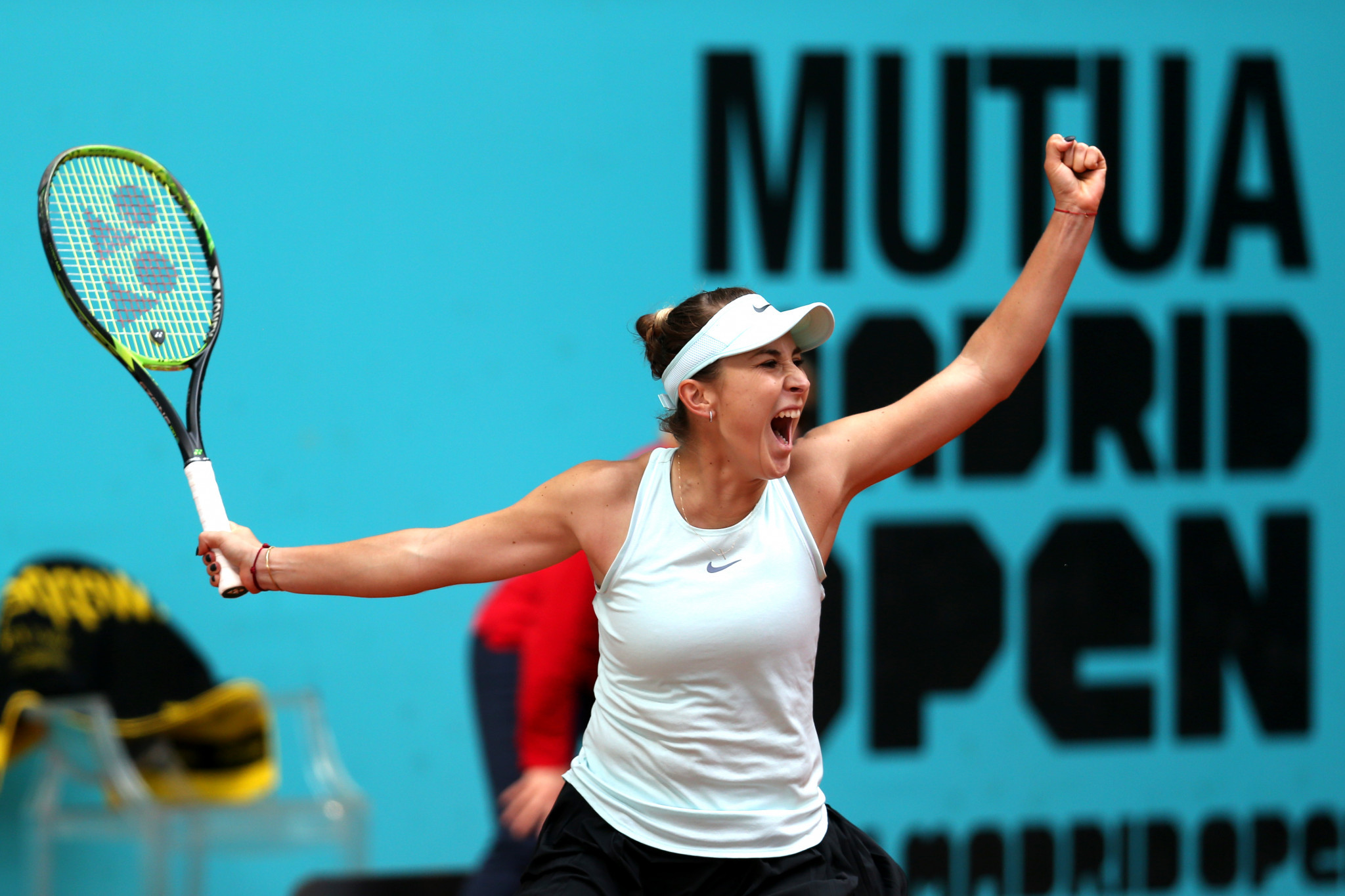 Bencic stuns world number one Osaka to reach semi-finals at Madrid Open