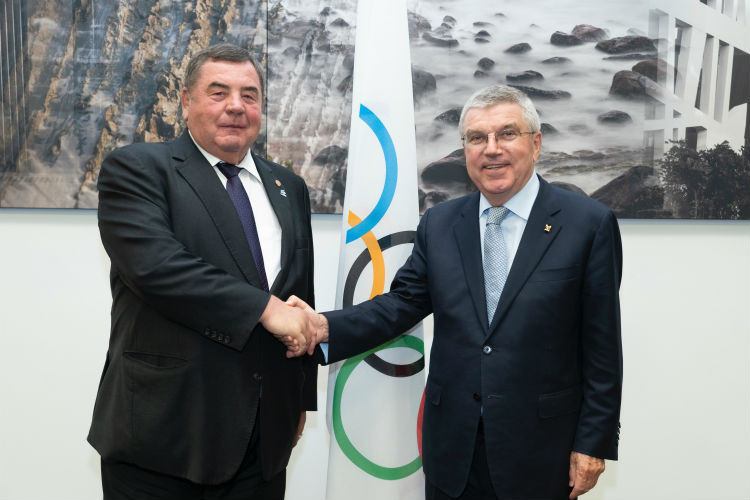 International Sambo Federation revel in new status as IOC-recognised sport at SportAccord Summit