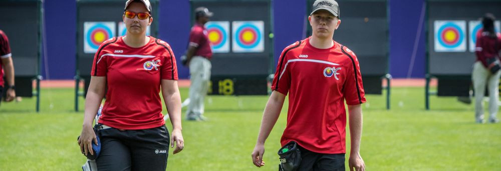 Belgian newcomer Frederickx sets up second shot for gold at Archery World Cup in Shanghai
