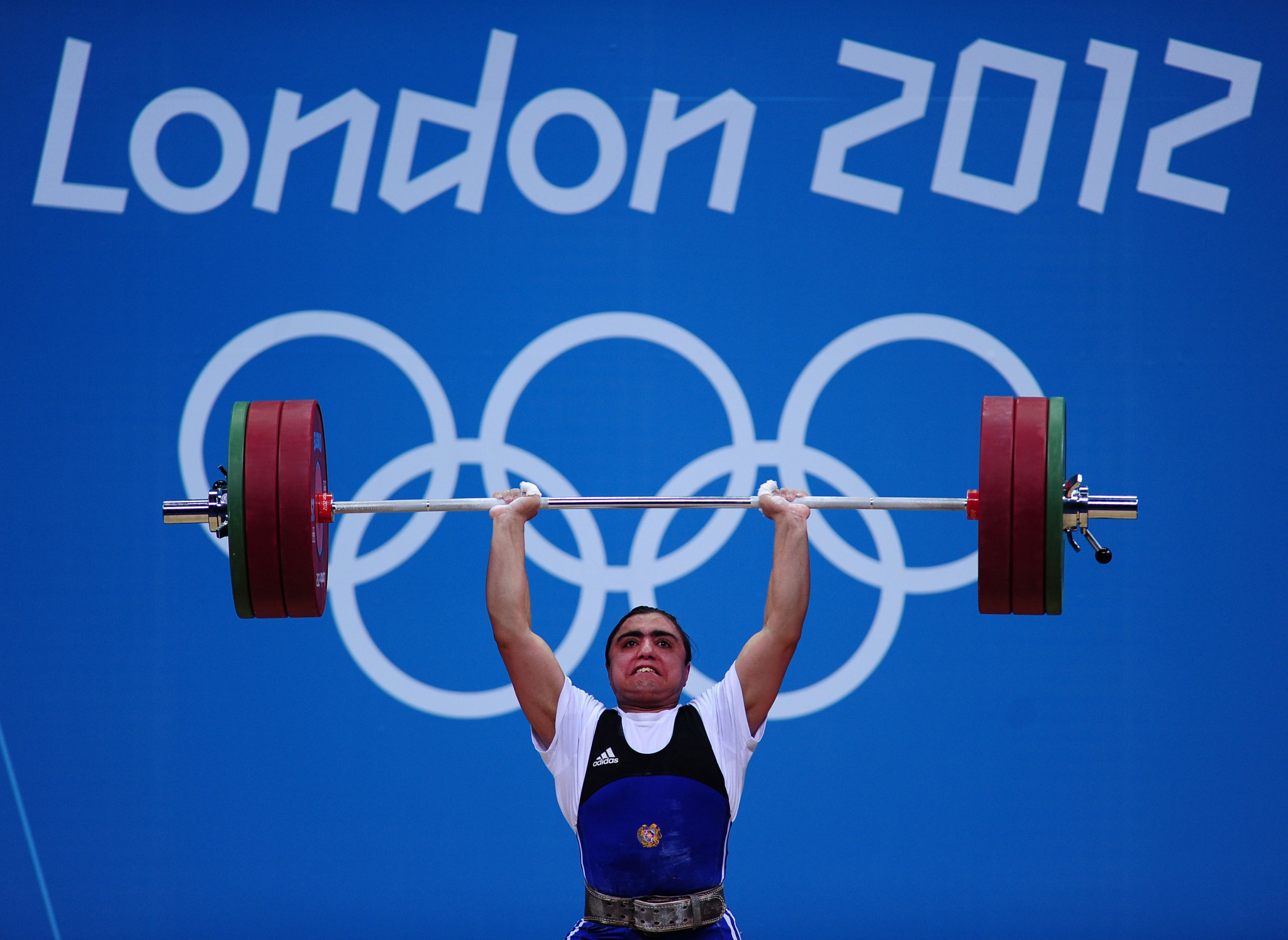 Armenia's Meline Daluzyan has been disqualified from the women's 69kg weightlifting event at the London 2012 Olympic Games ©Getty Images