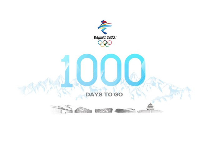 Beijing 2022 has released a promotional video made by a group of students to mark 1,000 days to go ©Beijing 2022