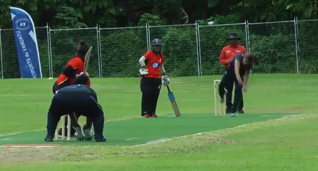 Papua New Guinea beat Samoa to win the qualifier in Vanuatu ©ICC