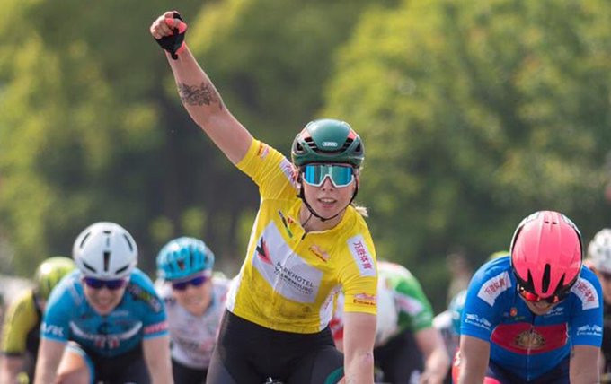 Wiebes wins second successive stage at UCI Tour of Chongming Island