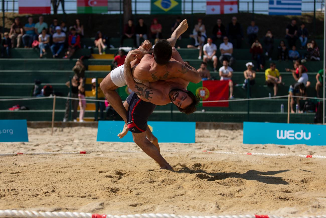 The second stop of the 2019 UWW Beach Wrestling World Series is due to begin in Rio de Janeiro tomorrow ©UWW