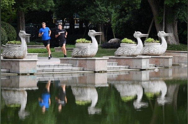 Athletes prepare to tackle multi-race format at ITU World Cup in Chengdu