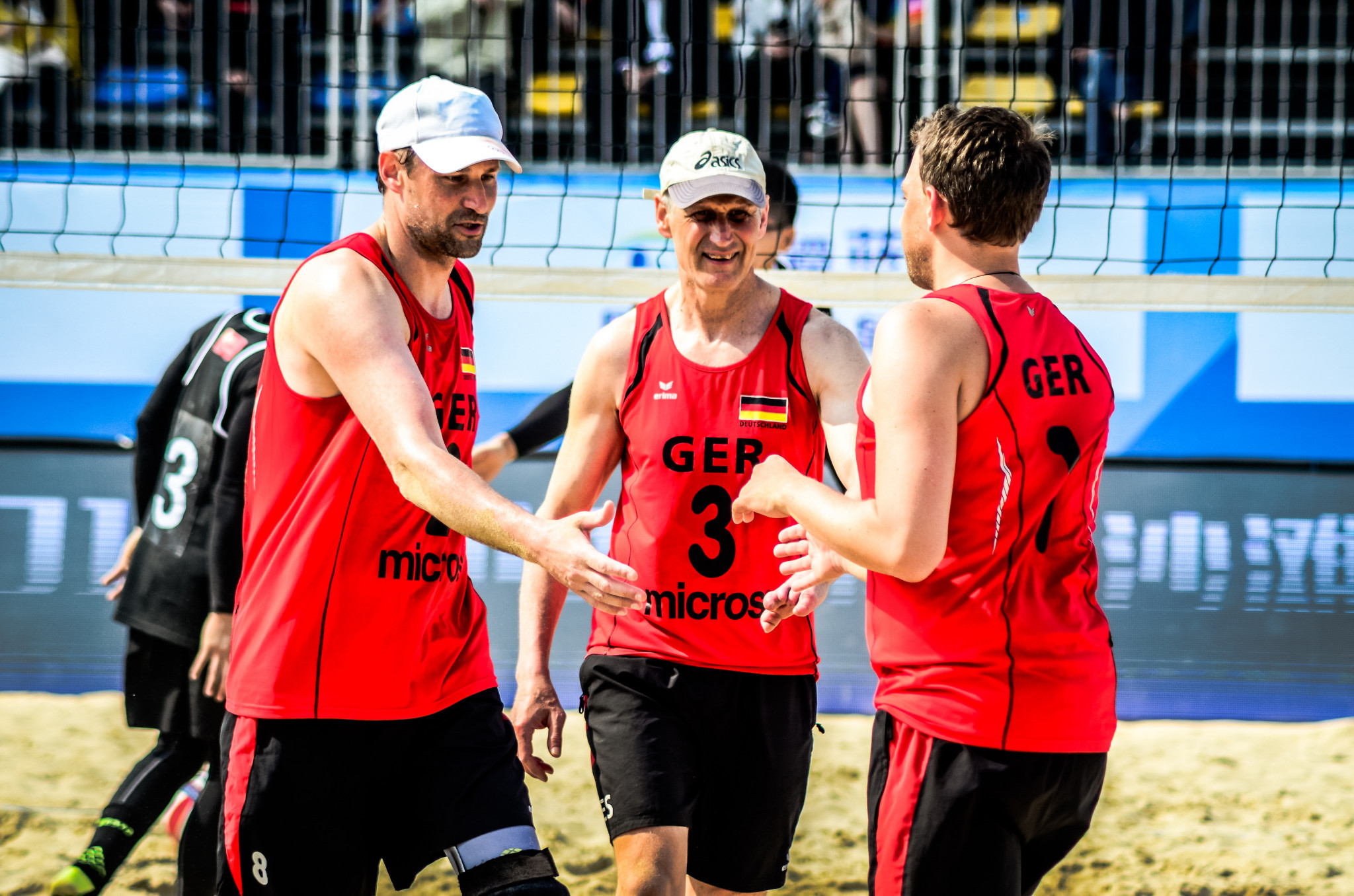 Germany and Poland make strong starts to Beach ParaVolley Standing World Series