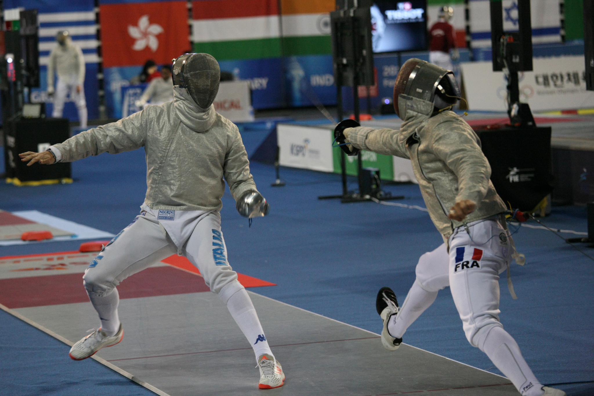 France's Lambert through to face top seed Dershwitz at FIE Men's Sabre World Cup in Madrid