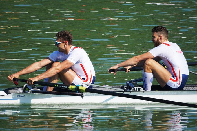 Sinković brothers qualify for men's pair final in style as World Rowing Cup opens in Plovdiv