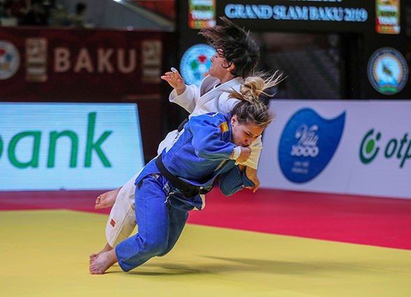 Spain's Laura Martinez Abelenda struck gold on the IJF World Tour for the first time with victory in the women's under-48kg category ©IJF
