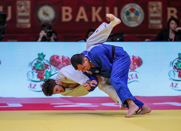 Brazil's Felipe Kitadai claimed a memorable win in the men's under-60kg division ©IJF