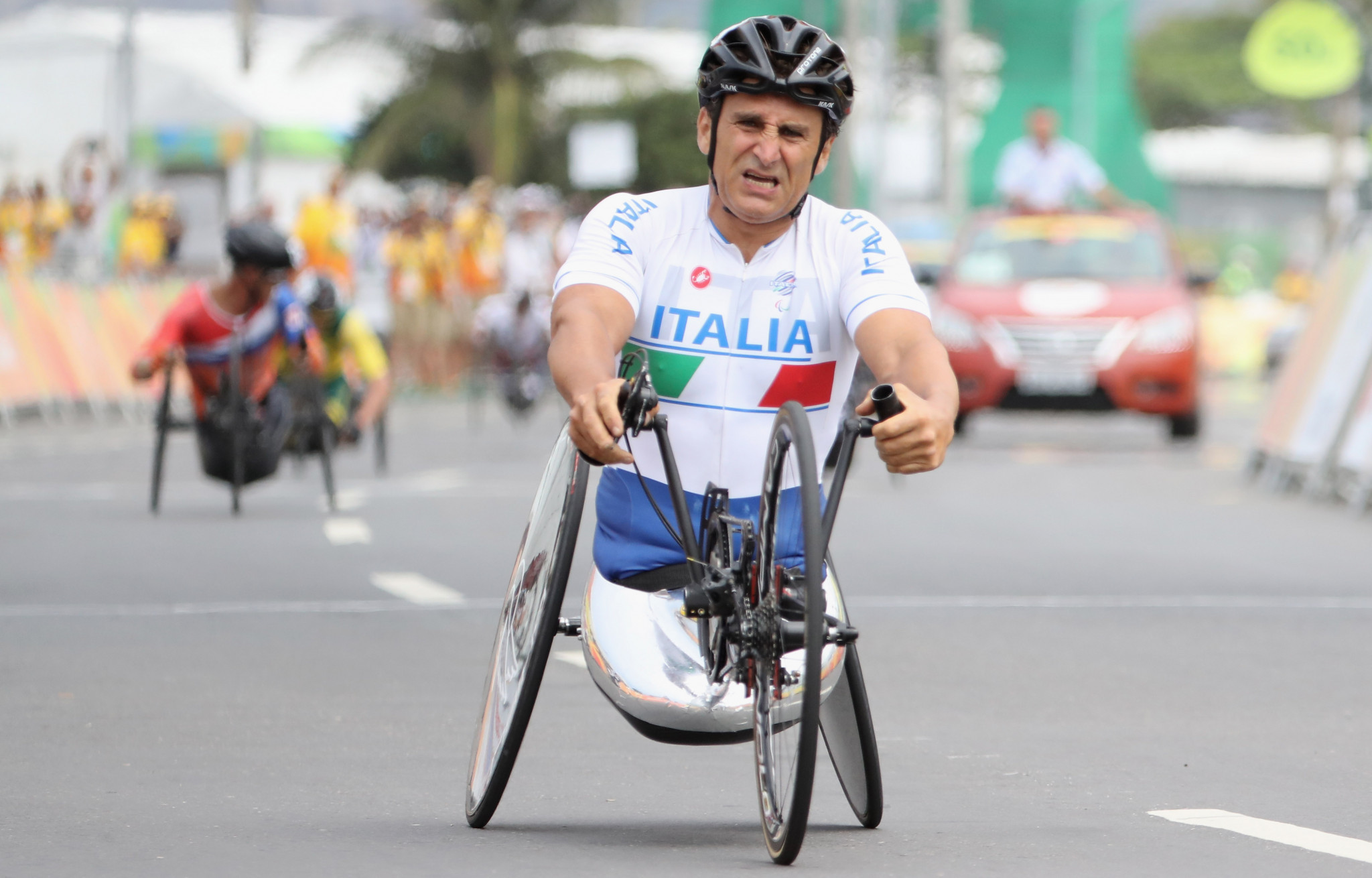 Hosts Italy claim two time trial titles at UCI Para-cycling Road World Cup in Corridonia