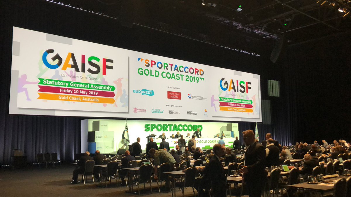 The GAISF General Assembly headlined the final day of SportAccord Summit ©GAISF