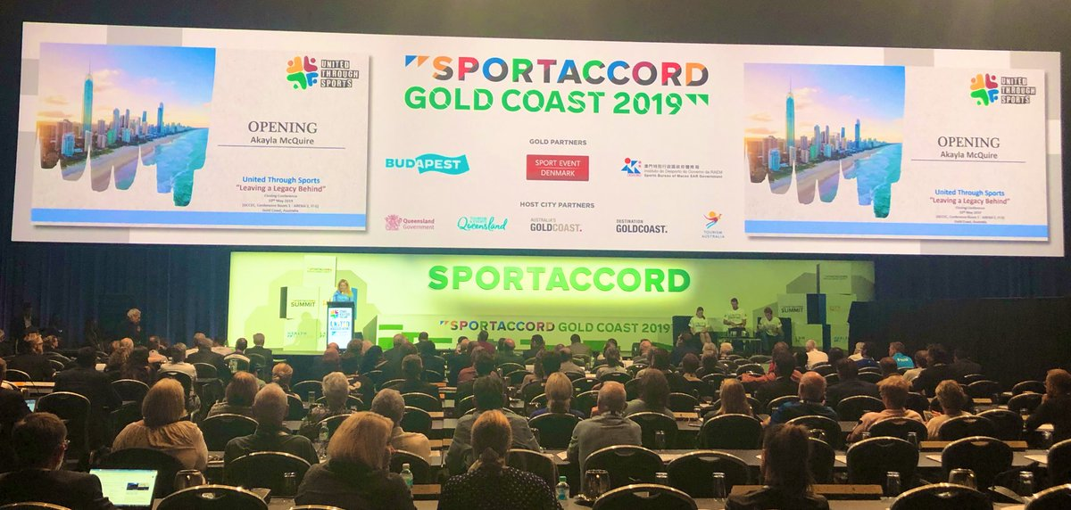 The United Through Sports festival brought SportAccord Summit to a close ©GAISF