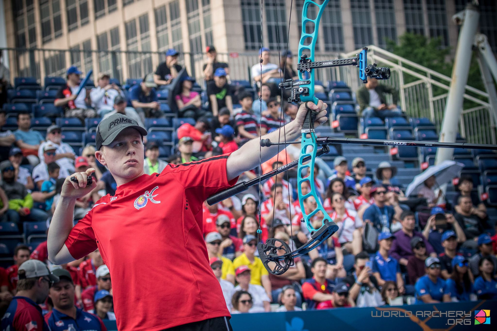 Debutant Frederickx misses gold on final arrow at Archery World Cup in Shanghai