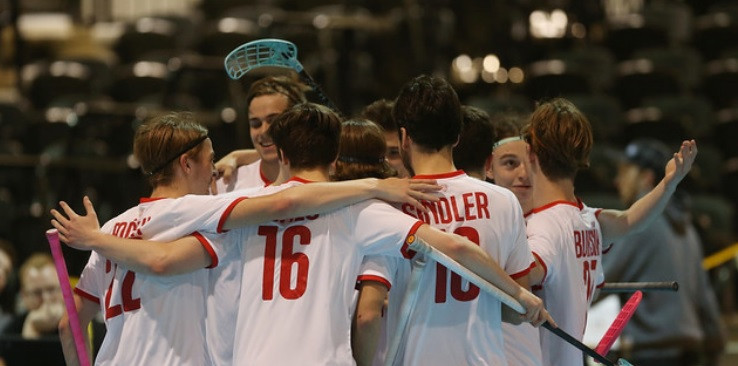 Semi-final line-up confirmed at Men's Under-19 World Floorball Championships