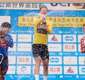 Wiebes maintains domination at Chongming Island to earn first UCI Women's World Tour win