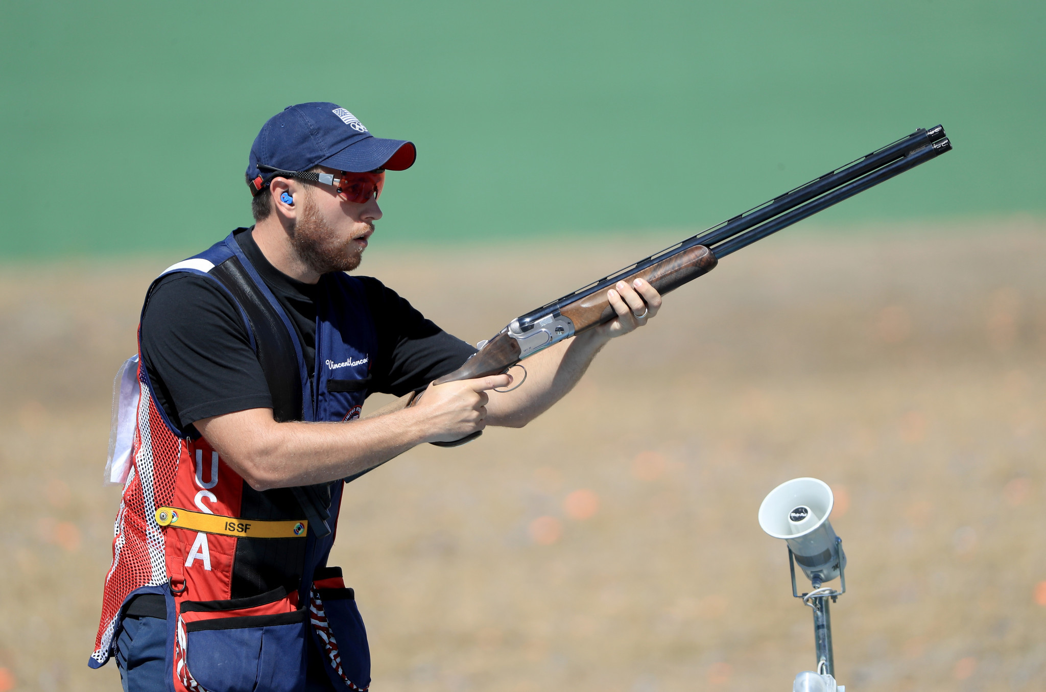 Vincent Hancock completed a US double in skeet event at the ISSF Shotgun World Cup in South Korea ©Getty Images