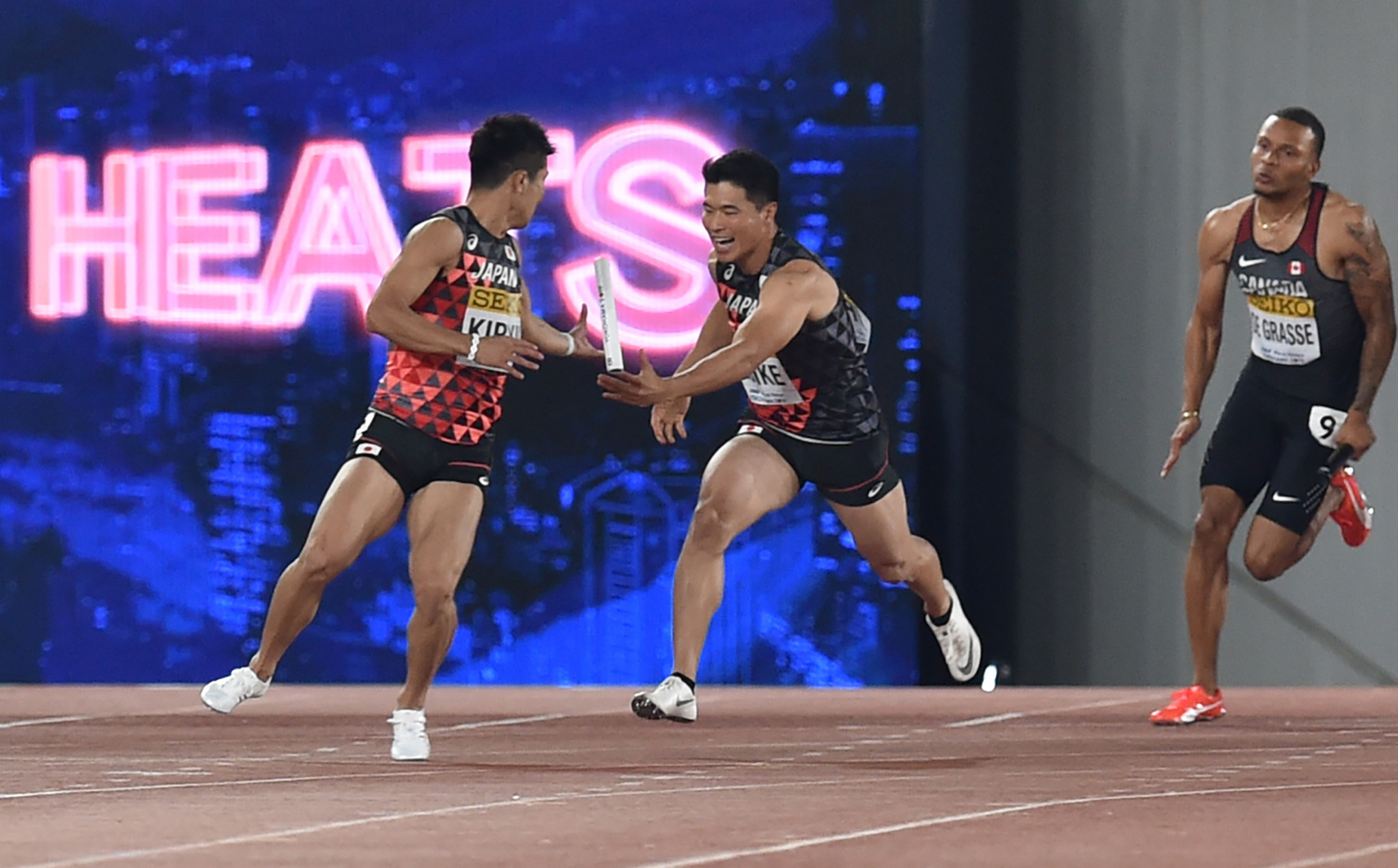 Home calamity as Japan's male 4x100m runners fail to make final at IAAF World Relays in Yokohama