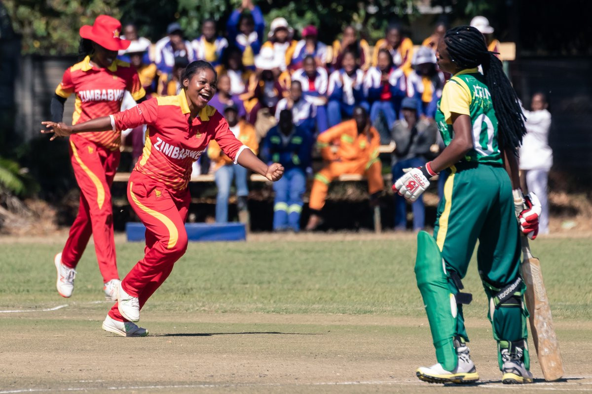 Zimbabwe won their fourth successive victory at ICC Women's Qualifier Africa 2019 ©Zimbabwe Cricket