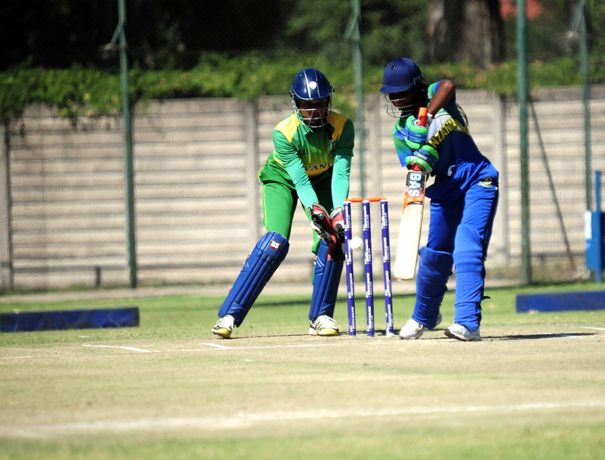 Tanzania defeated Rwanda at the ICC Women's Qualifier Africa 2019 ©Zimbabwe Cricket
