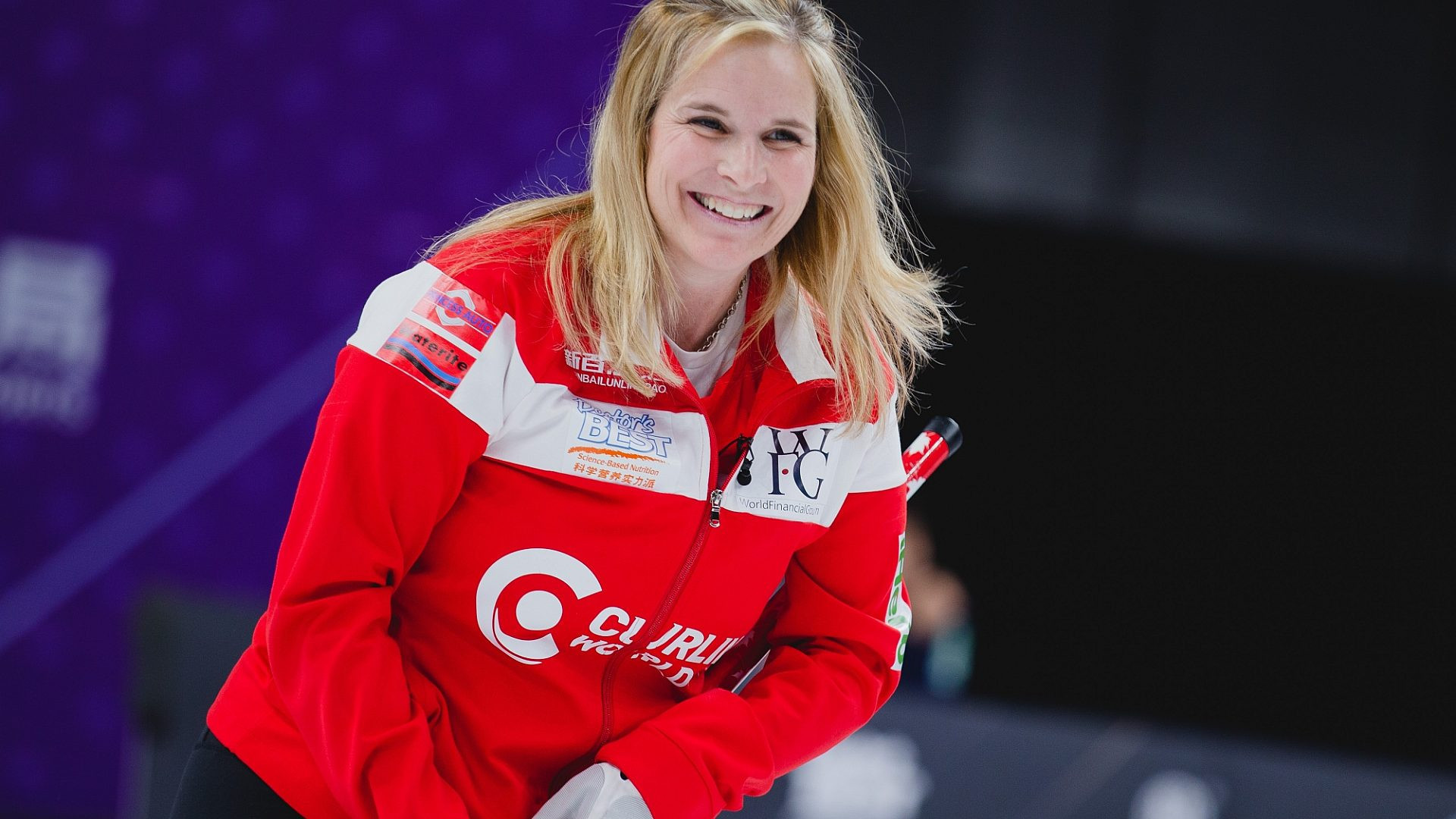 Despite two losses today, the Canada rink skipped by Jennifer Jones will play world champions Switzerland tomorrow for women's gold at the Curling World Cup Grand Final in Beijing ©World Curling