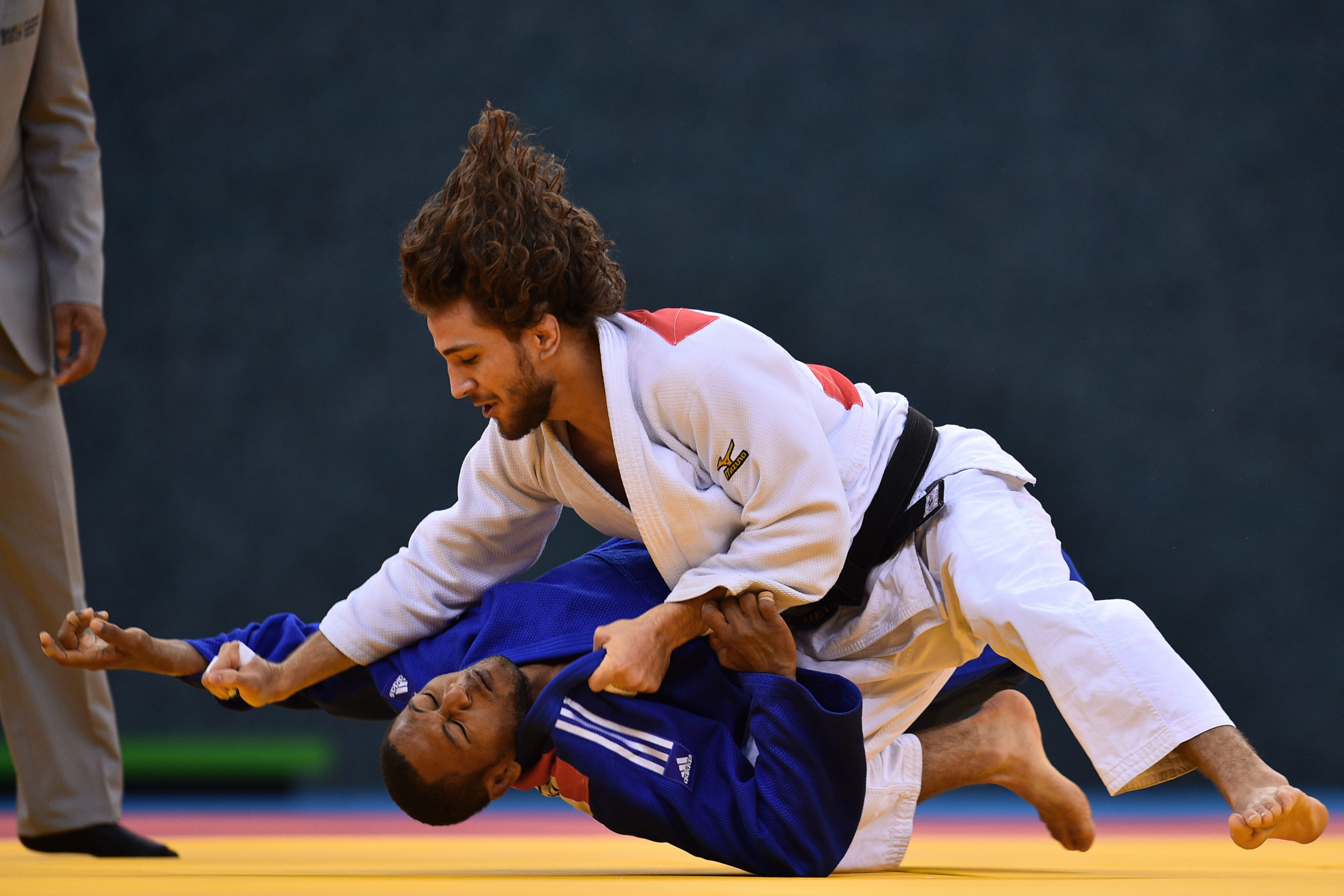 Hidayat Heydarov won gold at the IJF Baku Grand Slam ©Getty Images