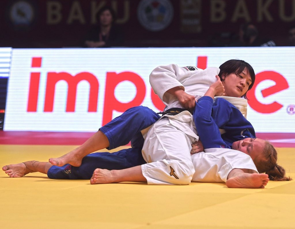 Japanese world champion Chizuru Arai won the women's -70kg at the IJF Baku Grand Slam ©IJF