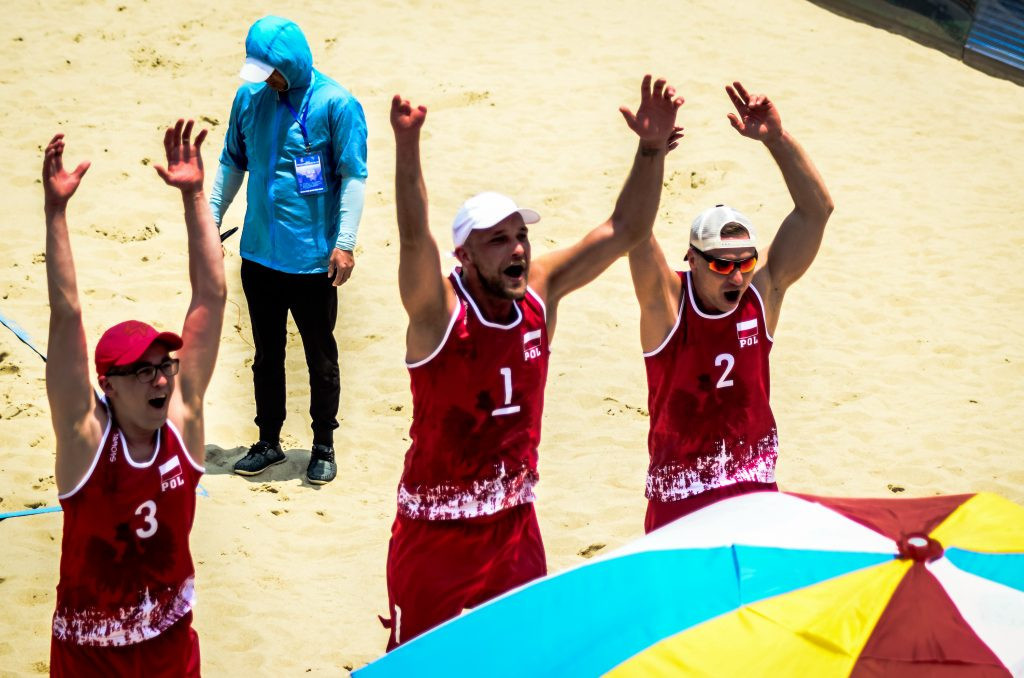 United States and Poland 1 reach gold medal match at first Beach ParaVolley World Open in China