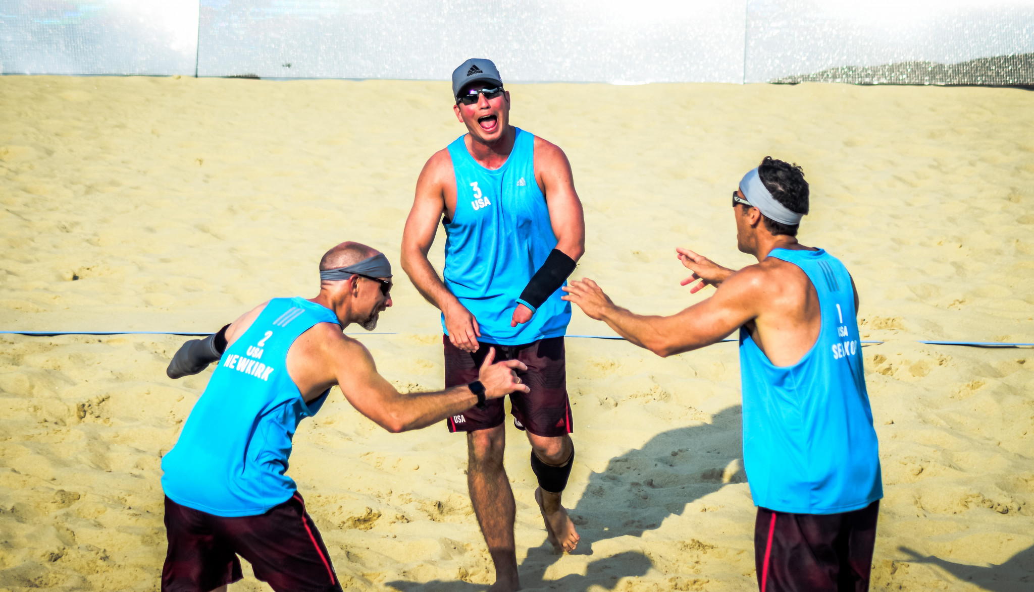 United States have reached tomorrow's gold medal match at the inaugural 2019 Beach ParaVolley World Series Pingtan Open ©World ParaVolley