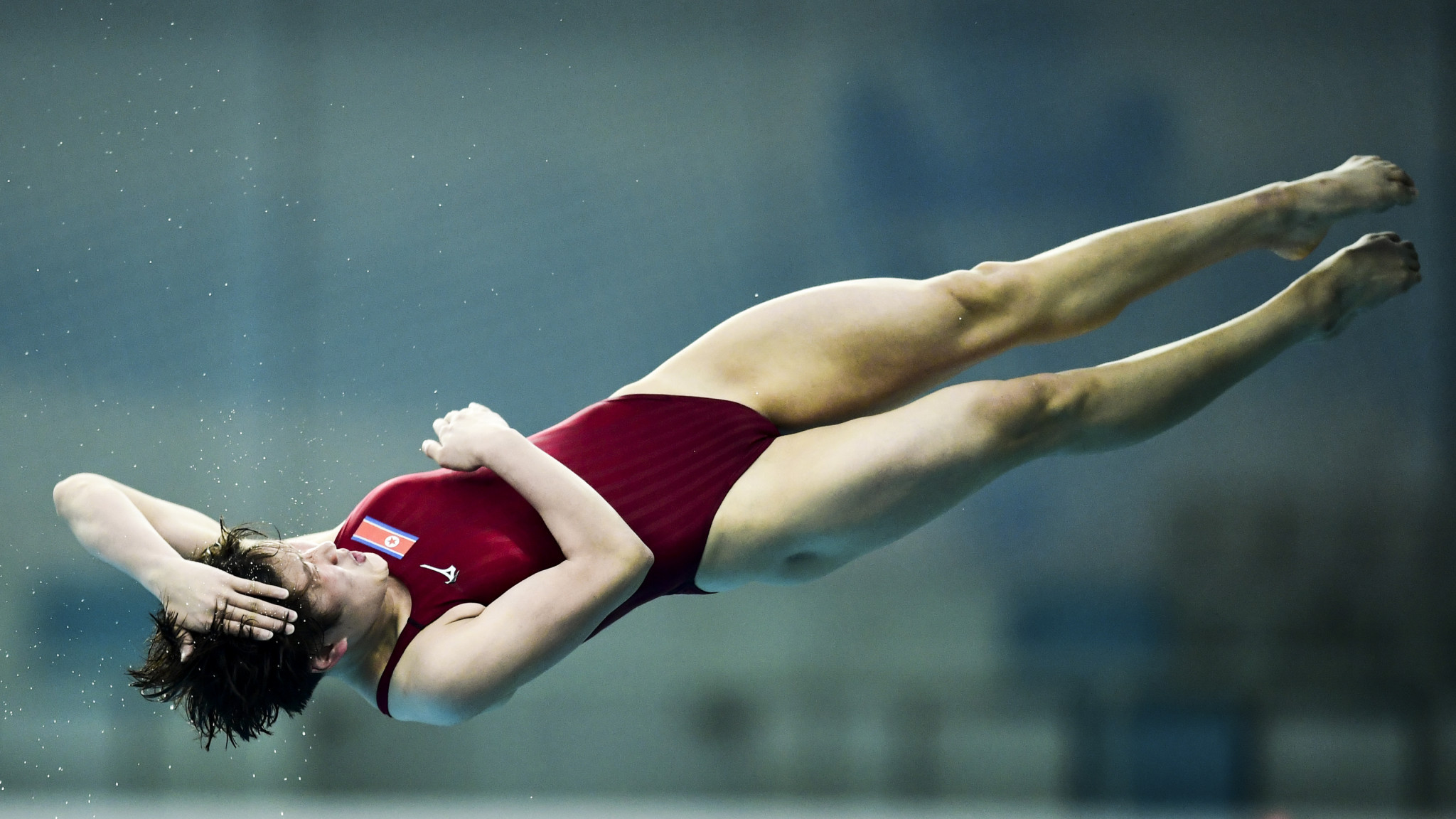 Kim and Laugher triumph at FINA Diving World Series