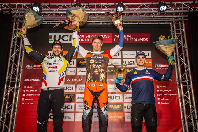 Niek Kimmann won the men's event in Papendal ©UCI