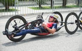 Alicia Dana took her second gold of the UCI Para-cycling Road World Cup in Corridonia ©Team USA