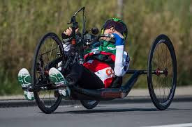 Switzerland's Benjamin Fruh won the men's H1 road race at the UCI Para-cycling Road World Cup in Corridonia ©Facebook