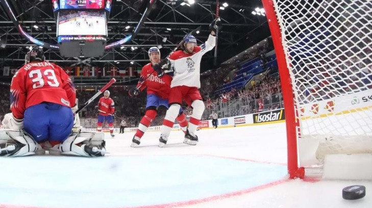 Czech Republic thrashed Norway to claim their second win in Slovakia ©IIHF