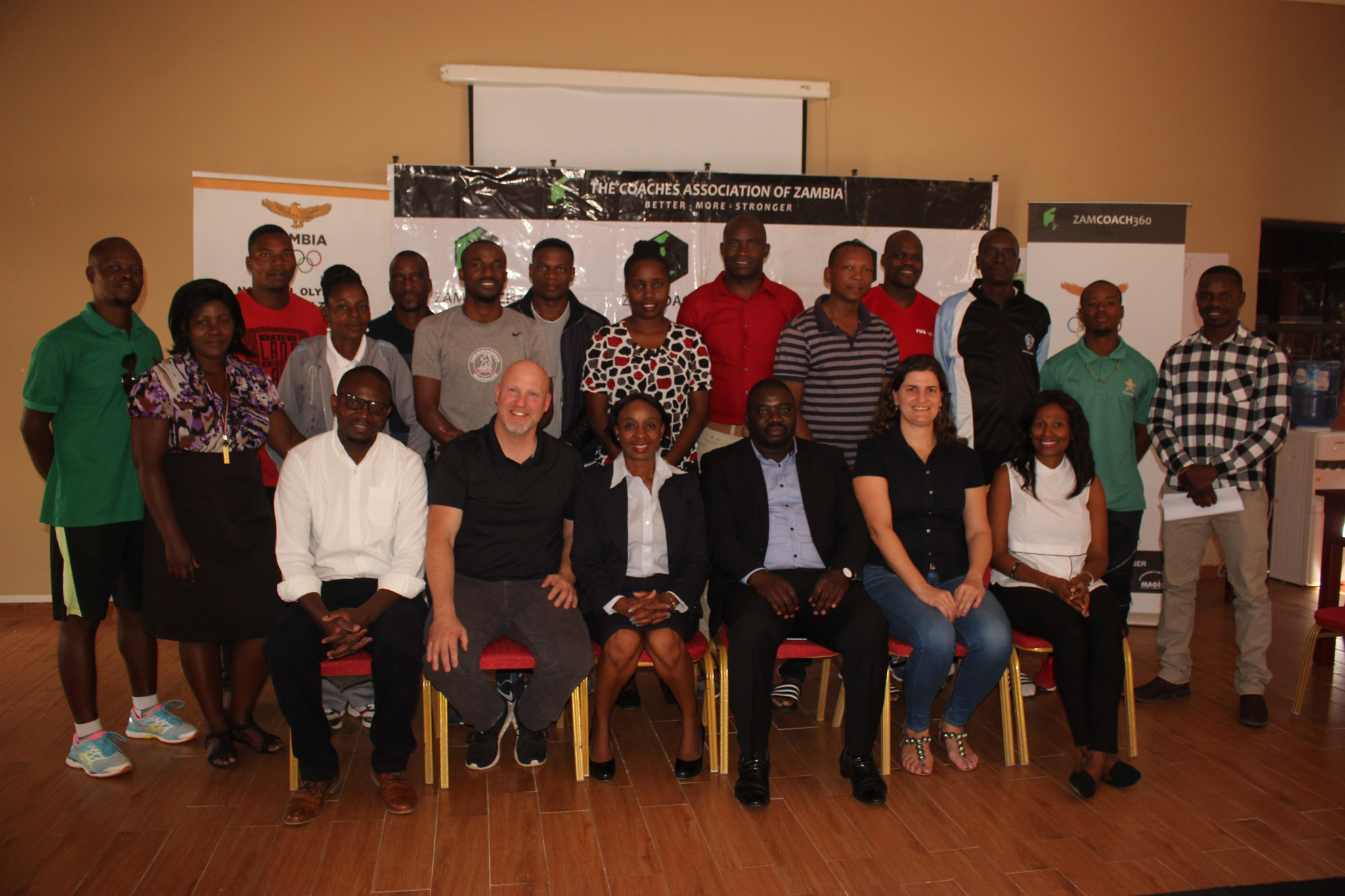 NOCZ hopes the course will enable coaches to develop their national federations ©NOCZ