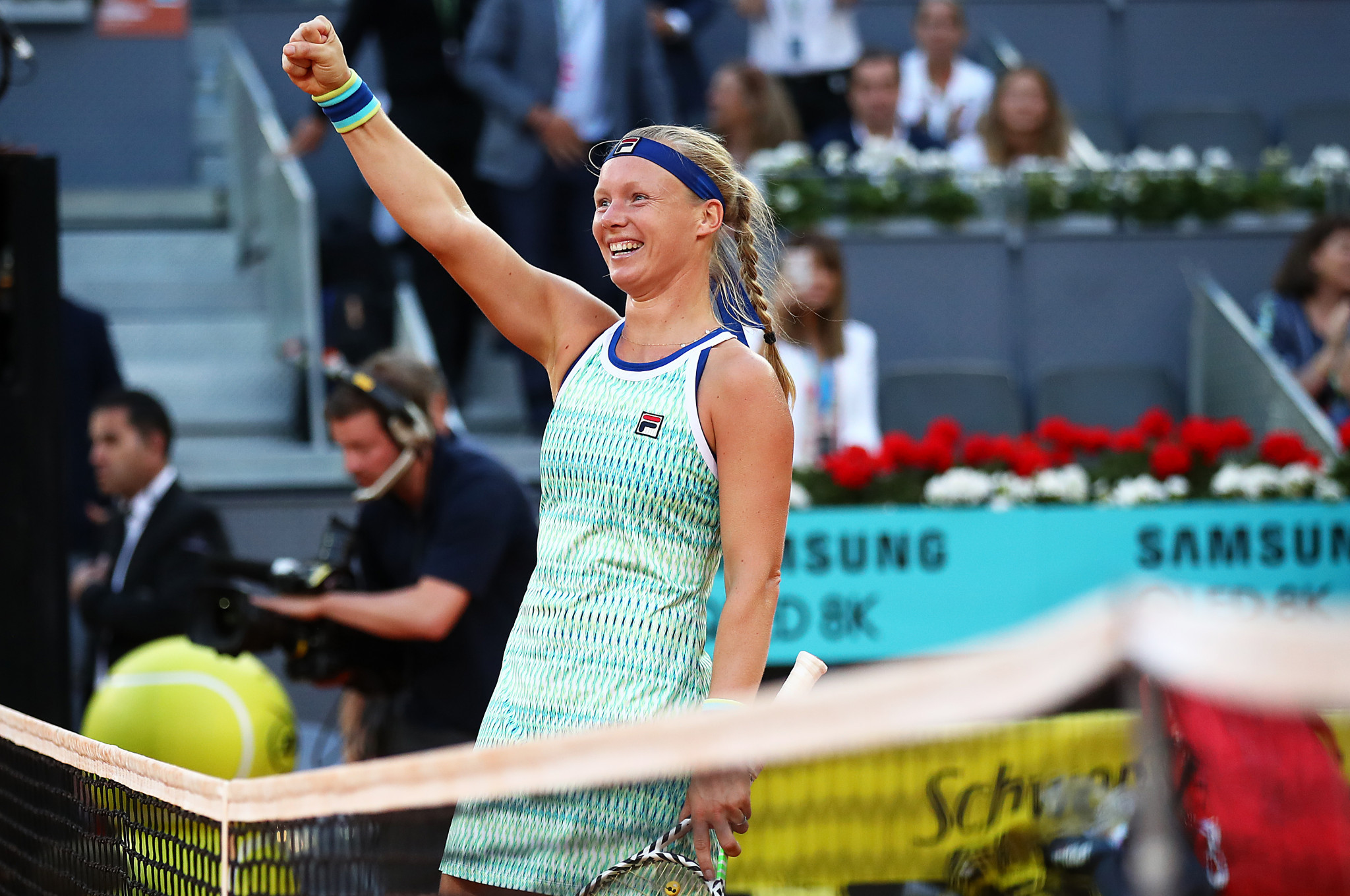 Bertens defeats Halep to take Madrid Open title