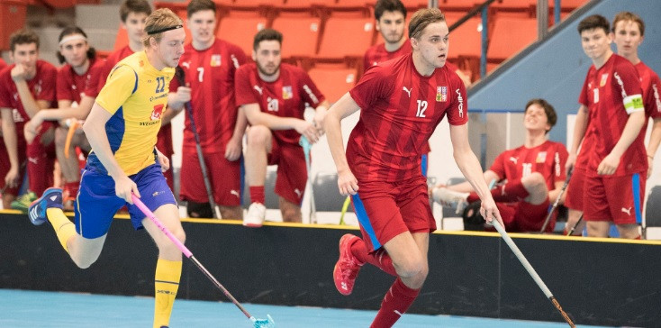 Czech Republic to face Sweden in final at Men's Under-19 World Floorball Championships