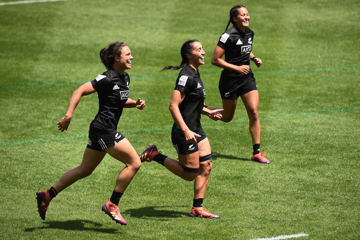 New Zealand back on track at World Rugby Women's Sevens Series